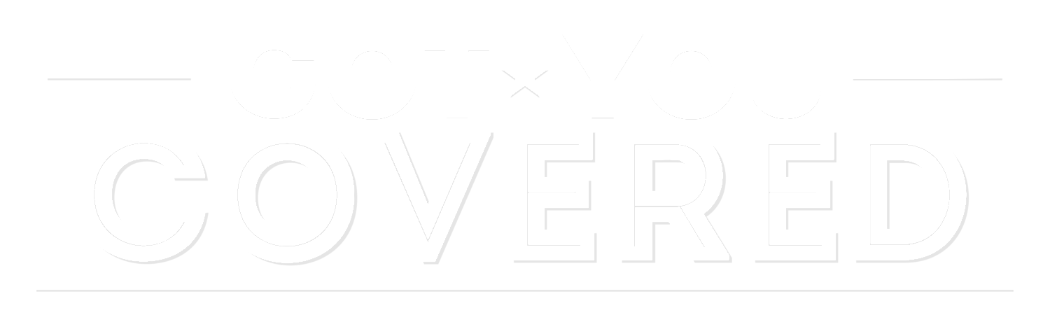 Got You Covered White Logo